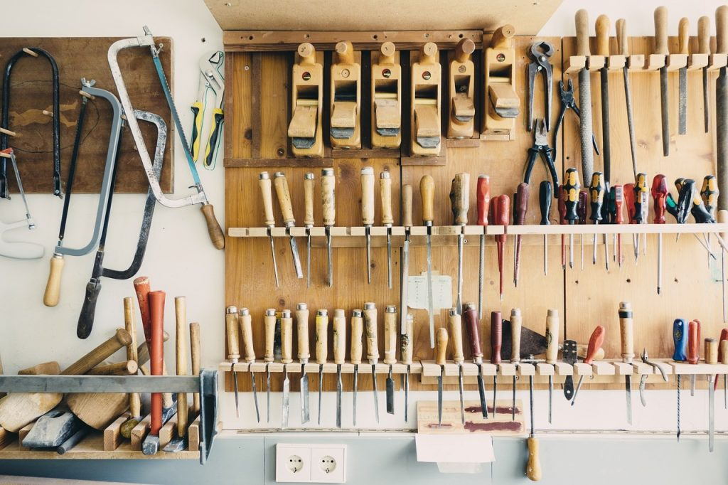 Five tips for organising your garage