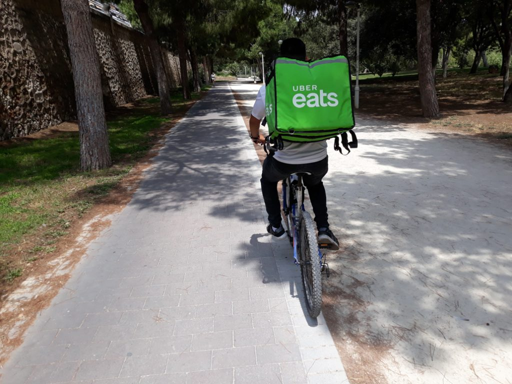 Delivery driver suing Uber Eats seeks Fair Work Commission appeal