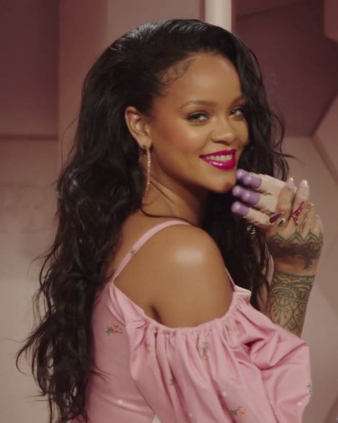 Rihanna stages an epic lingerie show in top-secret runway