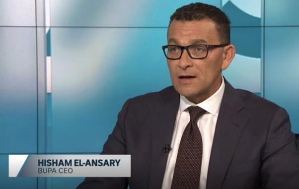 BUPA CEO Hisham El-Ansary