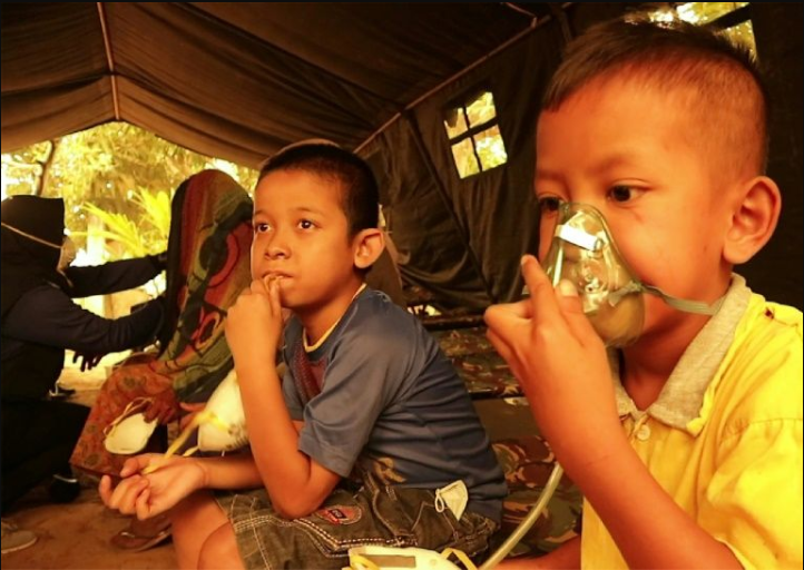 UNICEF: 10 million children at risk due to Indonesian forest fires