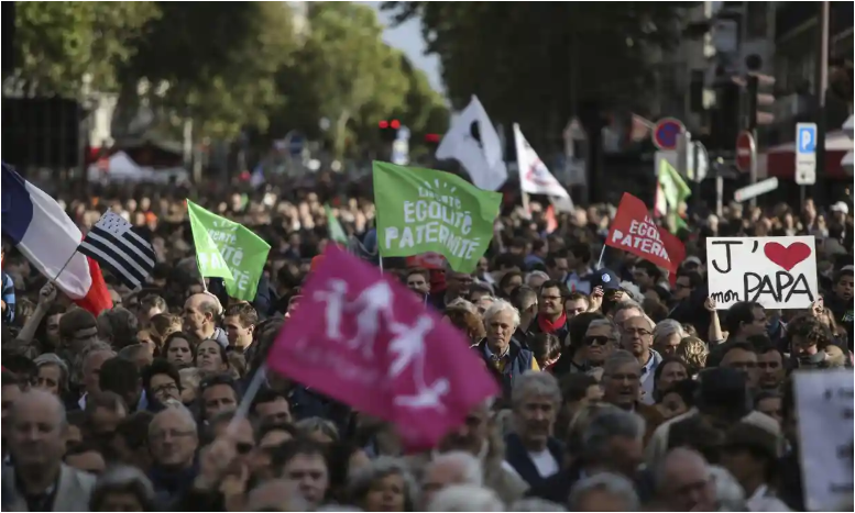 French IVF law for single women and lesbian couples sparks protest