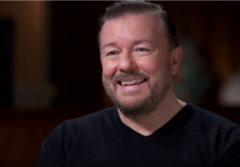 Ricky Gervais under hot water for transphobic tweets