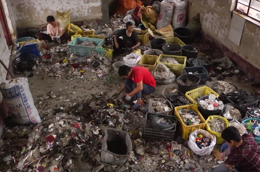 China sets single-use plastic ban by the end of 2020