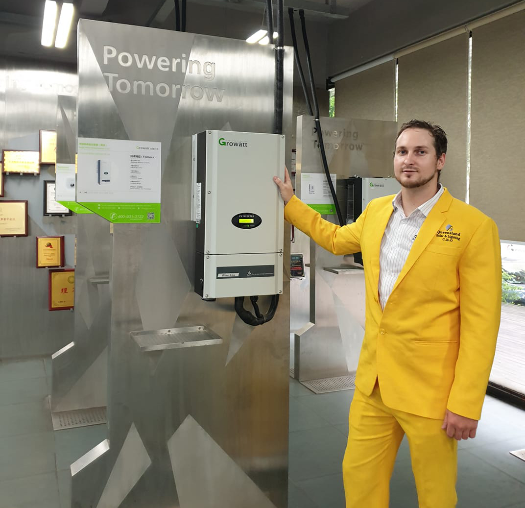 Daniel Jarret from Queensland Solar and Lighting