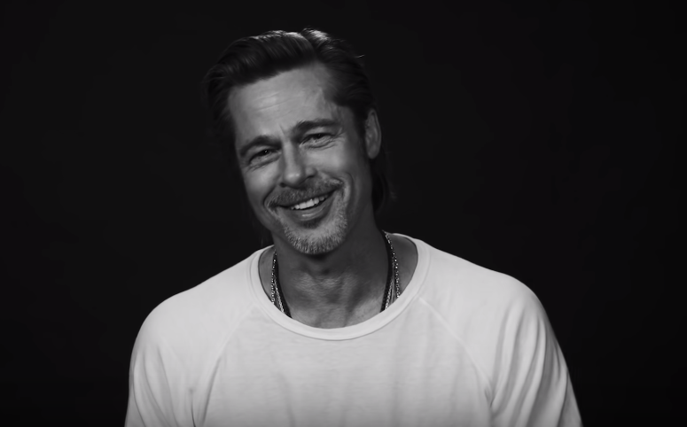 Brad Pitt accepts his BAFTAs win with another wisecracking speech