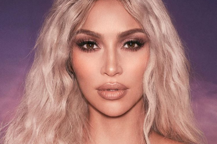 What Kim Kardashian's actual skin looks like