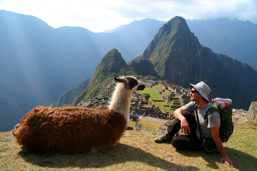Bashar Ibrahim in Machu Picchu