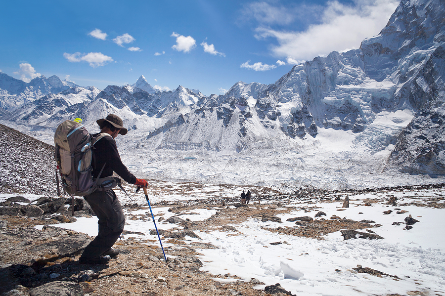 Bashar Ibrahim in The Himalayas
